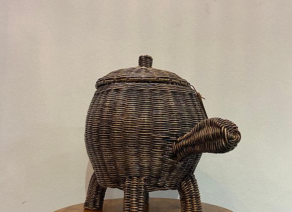 Tortoise Basket w/ Lid