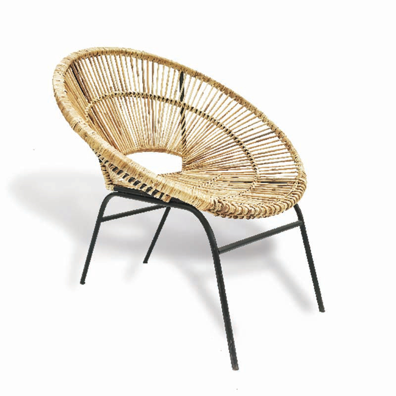 PUKU Rattan Lounge Chair
