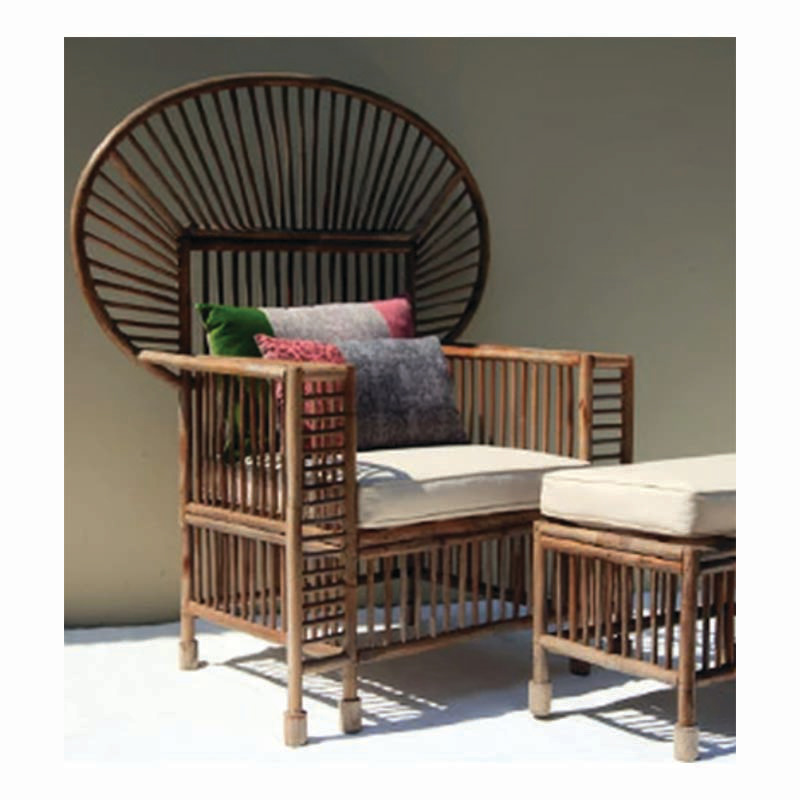 BARON Rattan Lounge Chair