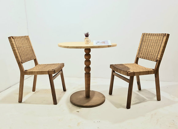Rattan Chairs w/ Table Set