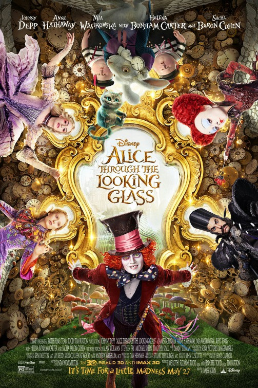 Alice Through the Looking Glass Poster.j