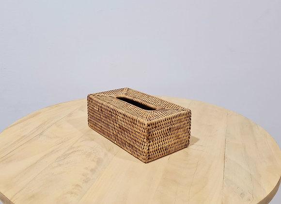 Rattan Tissue Box L26xD15xH10 cm