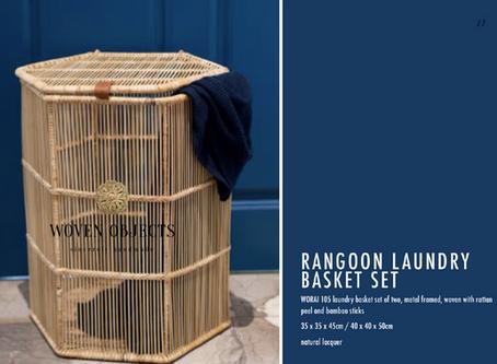 Rangoon Collection: Bamboo storage and planter baskets