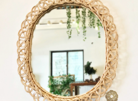 Rattan Mirrors : Decorative AND Practical
