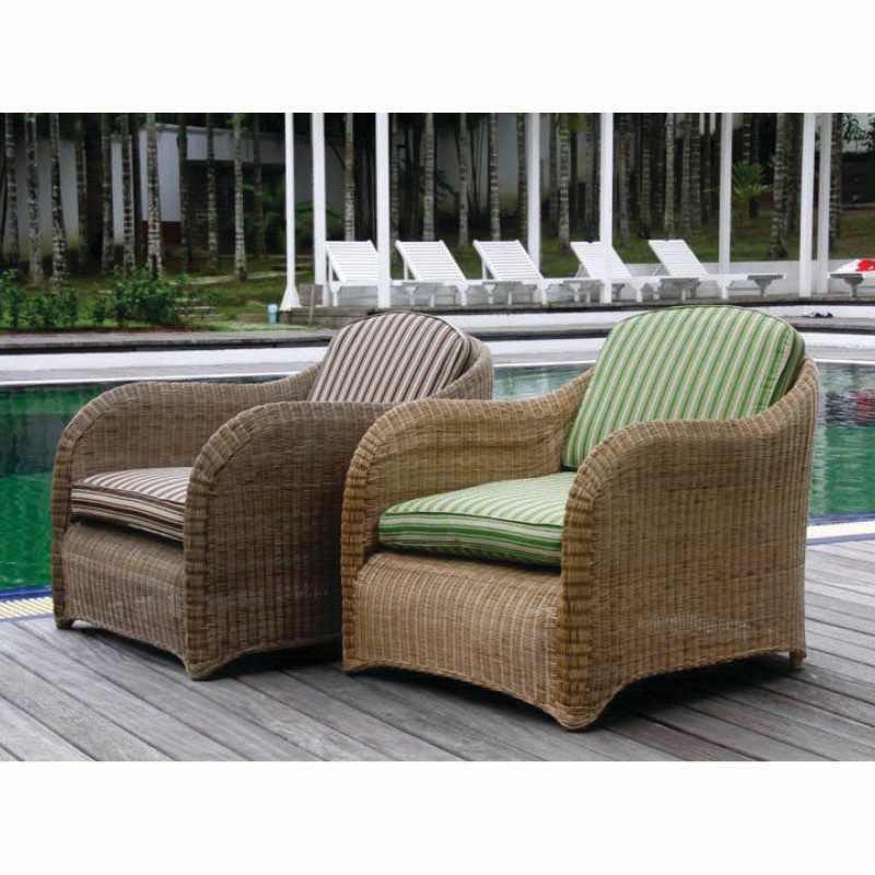 EVO Rattan Lounge Chair