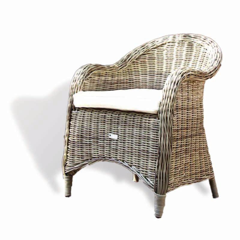 PRETORIA Rattan Lounge Armchair