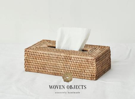 Rattan accessories : tabletop edition