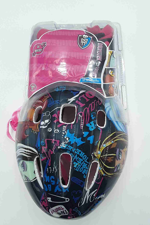 MONSTER HIGH CASCO Y PROTECTORES