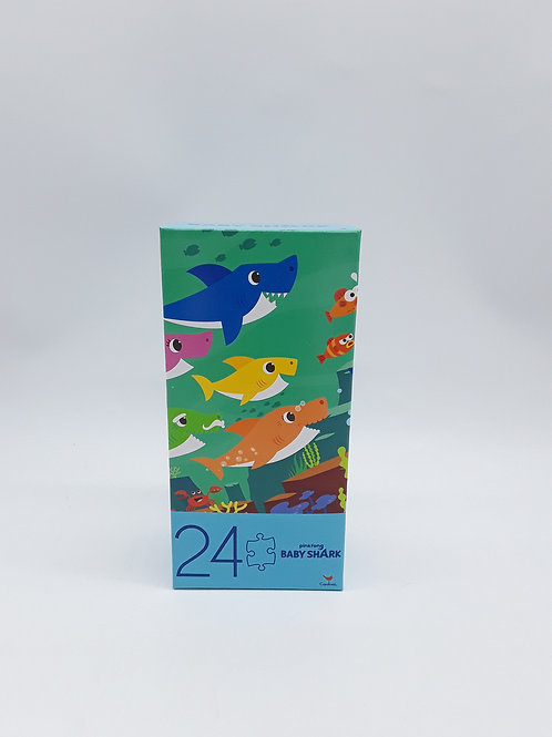 BABY SHARK TOWER PUZZLE 24PCS