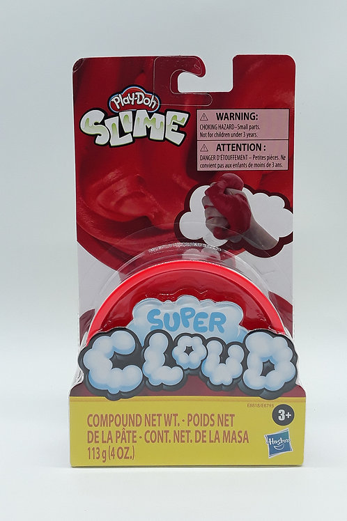 PLAY DOH CLOUD SLIME SING CAN RED