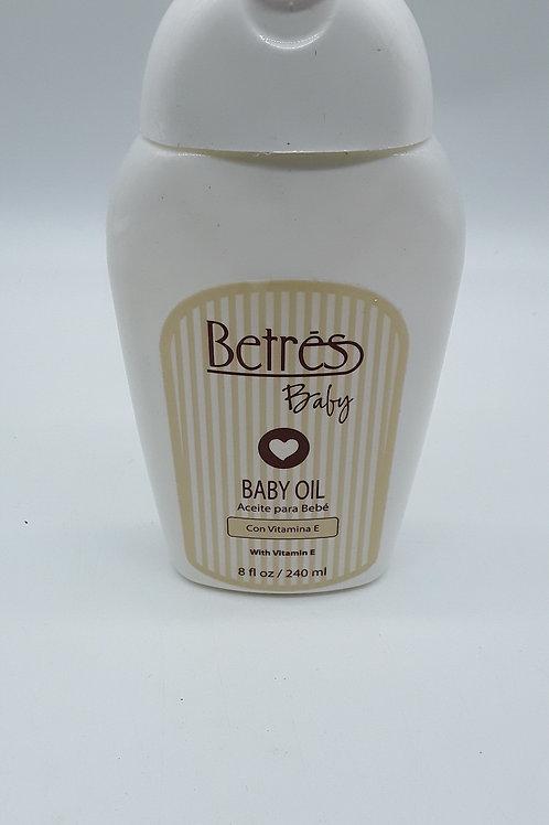 BETRES BABY ACEITE OIL 8 OZ