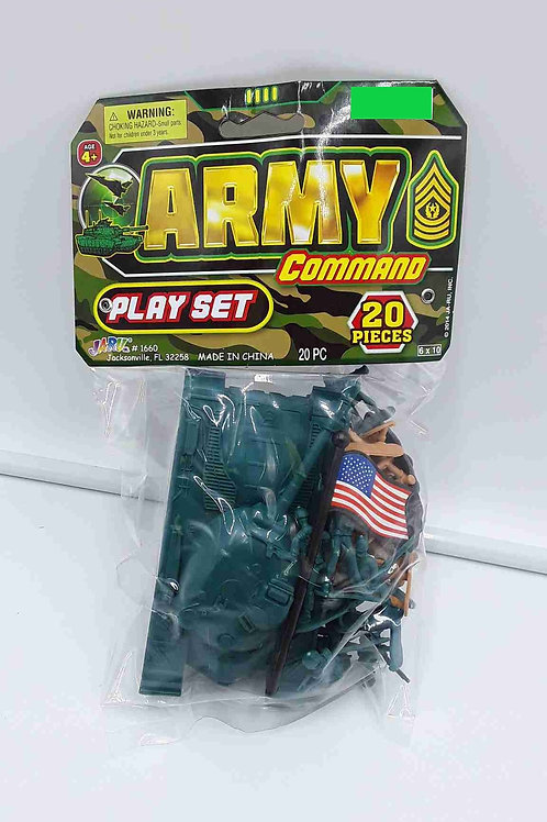 ARMY COMMAND PLAYSET