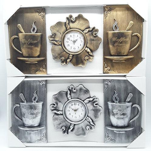 WALL CLOCK DECO PLACAS DECORACION DE PARED 24*12 IN