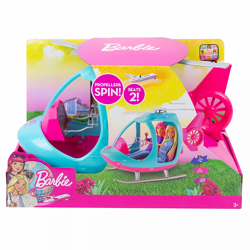 BARBIE TRAVEL HELICOPTER/HELICOPTERO