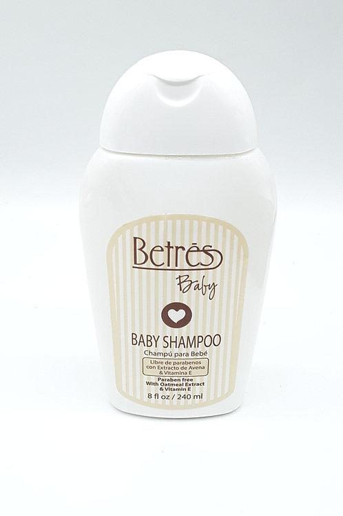 BETRES BABY SHAMPOO 8 OZ