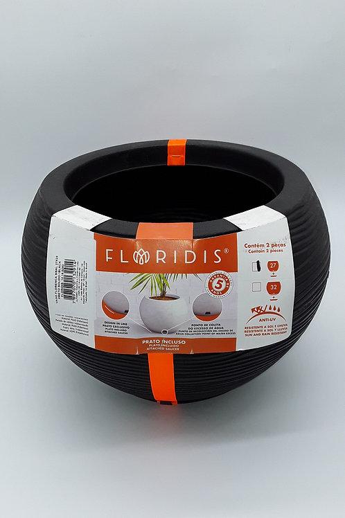 TIESTO FLORIDIS FLORENCA SISAL NEGRO  27X24CM
