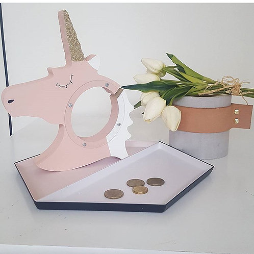 ALCANCIA DE UNICORNIO MONEY HOLDER