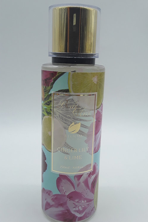 BLOOM MIST GINGER LILY & LIME 8.4 OZ