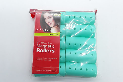 PLASTIC ROLLERS LARGE 8PC