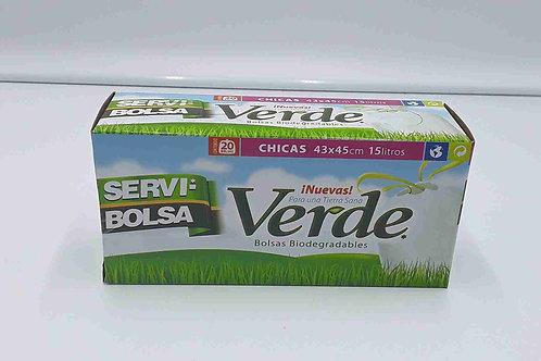 BOLSAS DE BASURA 4GL/20BAGS