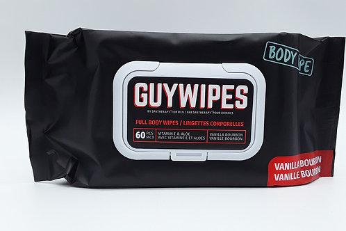 GUY WIPES VANILLA BOURBON 60PK