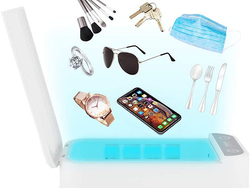 Cell Phone Sanitizer UV Lights Portable Cleaning Box