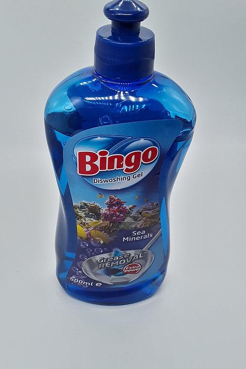 BINGO DISHWASH SEA/ MIN 500ML