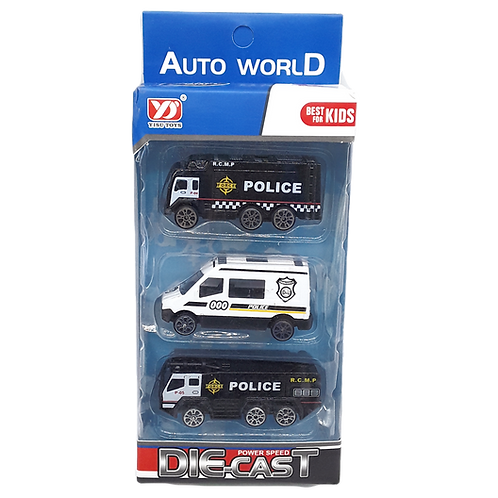 DIE-CAST TRUCK RESCUE CAR