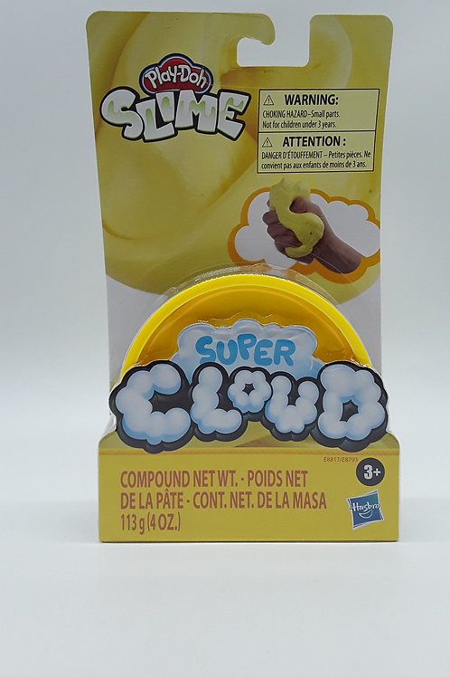 PLAY DOH CLOUD SLIME SING CAN YELLOW