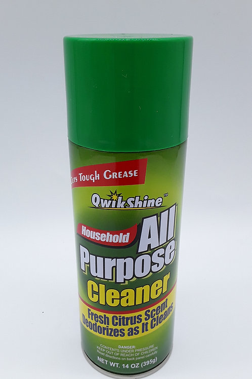ALL PURPOSE CLEANER QWIKSHINE 14OZ