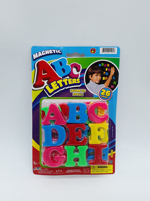 ABC MAGNETIC LETTERS & NUMBERS