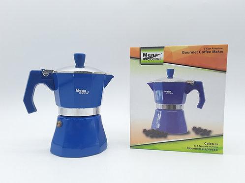 3 CUPS BLEU COFFEE MAKER