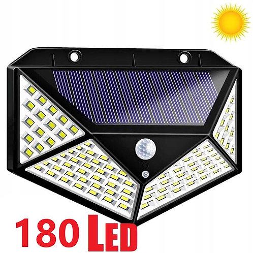 LUZ SOLAR CON SENSOR DE MOVIMIENTO SOLAR WALL LAMP 3 MODES
