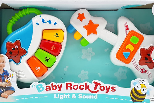 BABY ROCK TOYS LIGHT  & SOUND