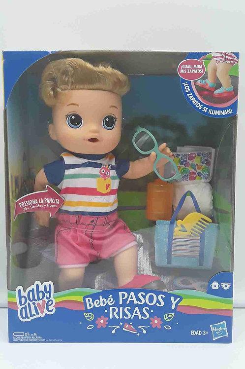 BABY PASOS Y RISAS