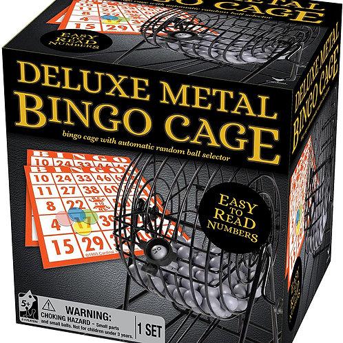 Metal Bingo Cage Set