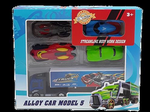 ALLOY CAR SET 5PK