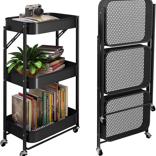BASTIDOR RETRACTABLE DE HIERRO METAL 703 FOLDABLE STORAGE RACK