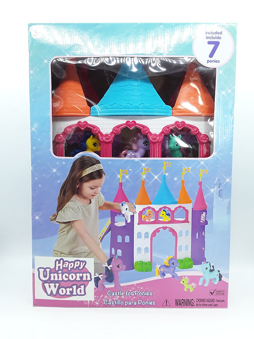 UNICORN CASTLE FOR PONIES