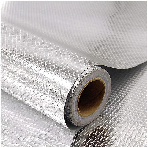 Kitchen Waterproof Aluminum foil Stickers Anti Greasy Counter Top Peel  24X40 IN