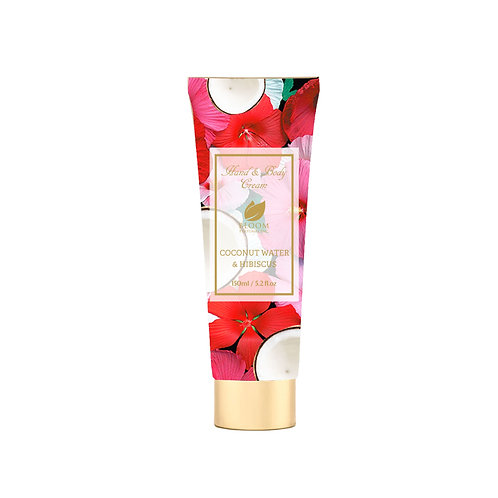 BLOOM BODY LOTION COCONUT WATER & HIBISCUS 5.2 OZ