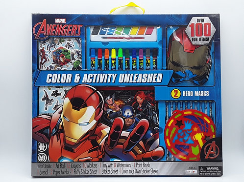 AVENGER ART SET 100PCS