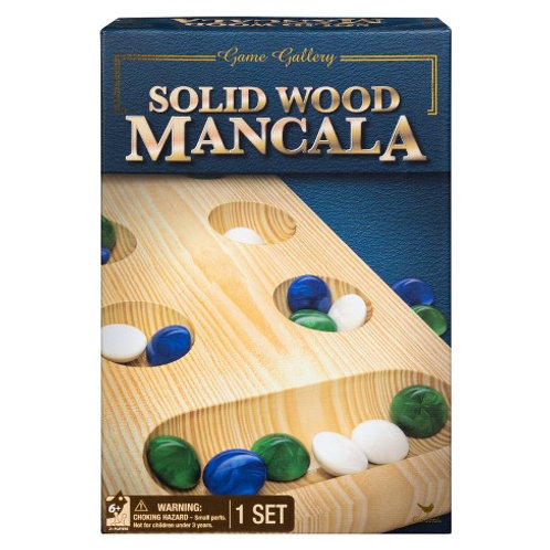 TRADITIONS SOLIDE WOOD MANCALA GAMES