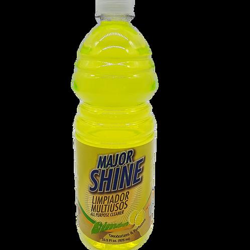 MAJOR SHINE ALL PURPOSE CLEANER LEMON 32 OZ