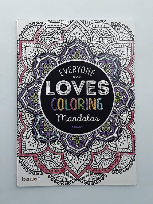 ADULT COLORING BOOKS: MANDALAS