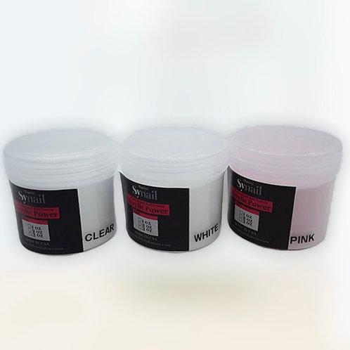 ACRÍLICO Acrylic Powder Professional Nail Art Powder for Nail Extension 3OZ