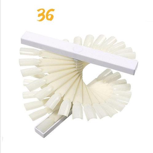 TARJETA DE 36 TIPS