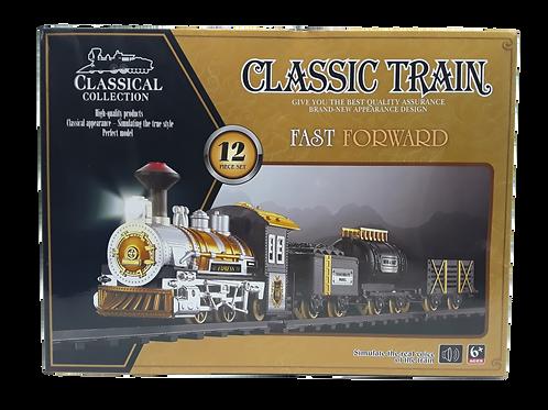 CLASSIC TRAIN RAIL LIGHTS AND MUSIC