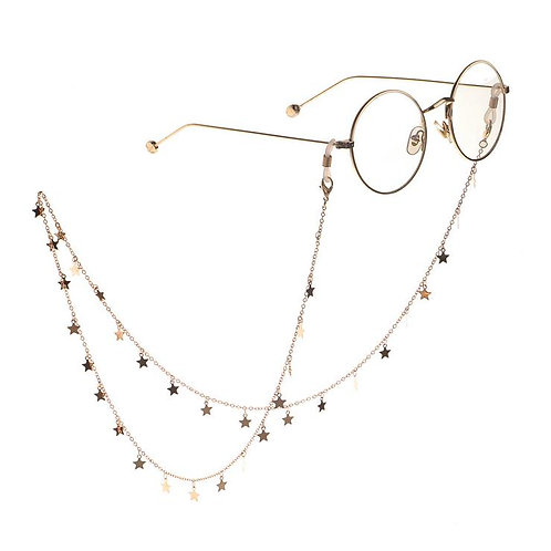 CADENA DE GAFAS Y MASCARILLA, FACE MASK, SUNGLASSES  KEEPERS,  SAFETY NECKLACE