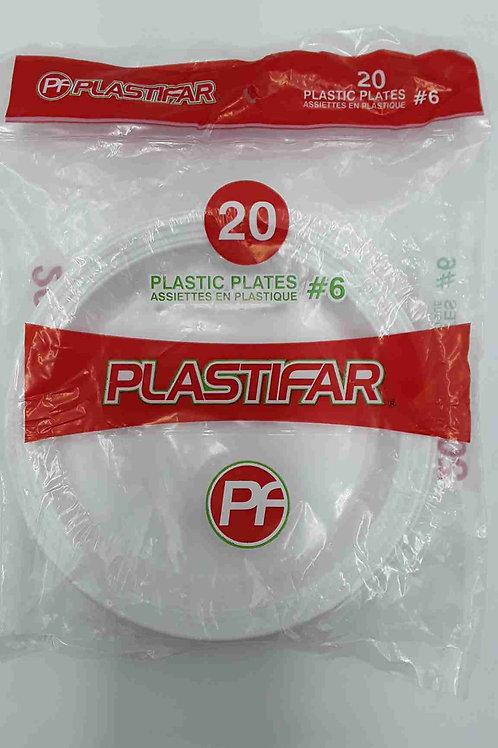 PLATO PLASTICO #6